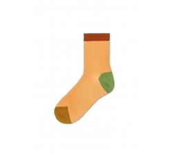 Dámské žluté ponožky Happy Socks Grace I // kolekce Hysteria