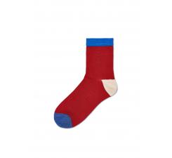 Dámské červené ponožky Happy Socks Grace // kolekce Hysteria
