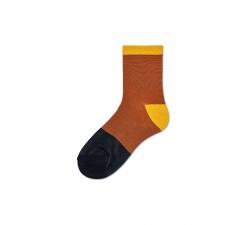 Dámské hnědé ponožky Happy Socks Liza // kolekce Hysteria
