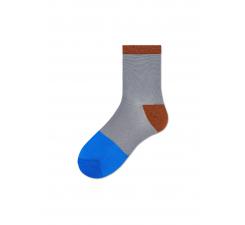 Dámské šedé ponožky Happy Socks Liza // kolekce Hysteria