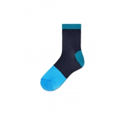 Dámské tmavě modré ponožky Happy Socks Liza // kolekce Hysteria