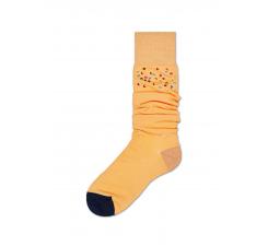 Dámské žluté podkolenky Happy Socks Madda // kolekce Hysteria