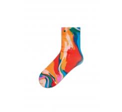 Dámské pestrobarevné ponožky Happy Socks Mia // kolekce Hysteria