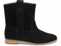 Černé dámské vysoké boty TOMS Laurel Boot