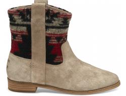 Béžové/Barevné dámské vysoké boty TOMS Tribal Laurel Boot