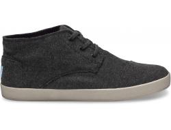 Pánské šedé kotníkové boty TOMS Paseo