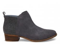 Dámské šedé kotníkové boty TOMS Deia
