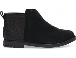 Dětské černé kotníkové boty TOMS Youth Deia