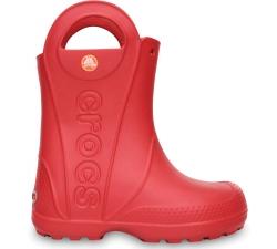 Handle It Rain Boot Kids Red C6