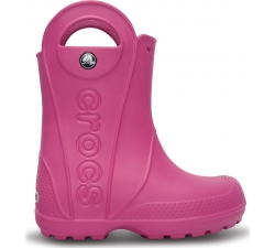 Handle It Rain Boot Kids Fuchsia C6