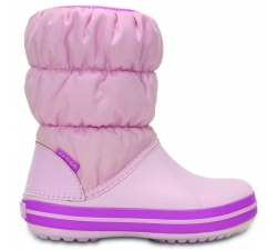 Winter Puff Boot Kids Pink/Wild Orchid C6