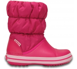 Winter Puff Boot Kids - Candy Pink C8