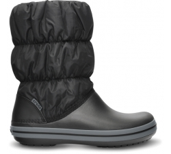 Winter Puff Boot W Blk/Char W7