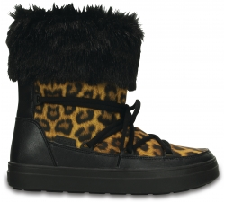 LodgePoint Lace Boot W - Leopard/Black W6