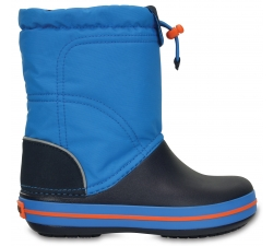 Crocband LodgePoint Boot K - Ocean/Navy C10