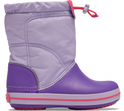 Crocband LodgePoint Boot K Lavender/Neon Purple C10