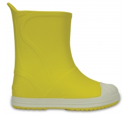 Crocs Bump It Boot - Yellow/Oyster C7
