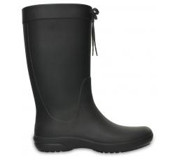 Crocs Freesail Rain Boot - Black W6