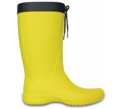 Crocs Freesail Rain Boot - Lemon W11
