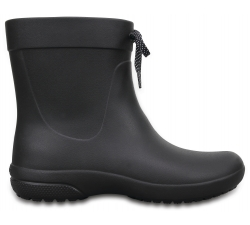 Crocs Freesail Shorty RainBoot - Black W6