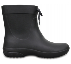 Crocs Freesail Shorty RainBoot - Black W9