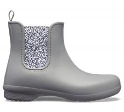 Crocs Freesail Chelsea Boot W Slate Grey/Dots