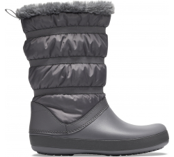 Crocband Winter Boot W Charcoal W10