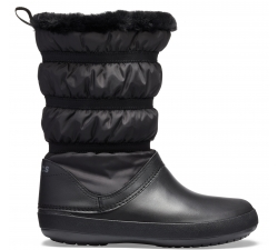 Crocband Winter Boot - Black/Black W10