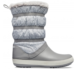 Crocband Winter Boot - Dots/Smoke W10