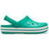 Crocband Deep Green/White