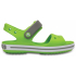 Crocband Sandal Kids Volt Green/Smoke