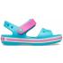 Crocband Sandal Kids Digital Aqua