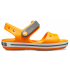 Crocband Sandal Kids Orange/Slate Grey