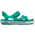 Crocband II Sandal Deep Green/Prep Blue