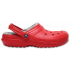 Classic Lined Clog Pepper/Silver