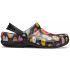 Bistro Graphic Clog Black/multi donuts