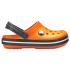 Crocband Clog K Blazing Orange/Slate Grey