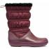 Crocband Winter Boot Burgundy