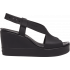 Crocs Brooklyn High Wedge W Black/Black