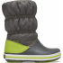 Crocband Winter Boot K Slate Grey/Lime Punch