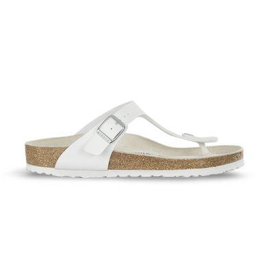 Bílé pantofle Birkenstock Gizeh Birko-Flor