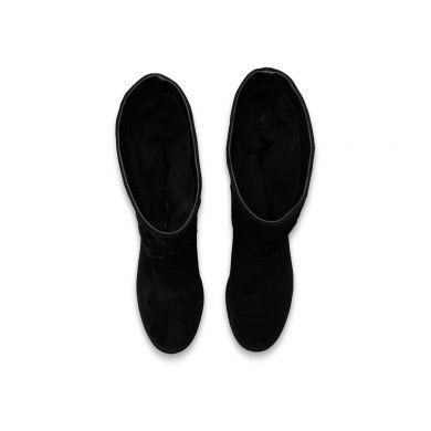 Černé dámské kozačky TOMS Serra Boot
