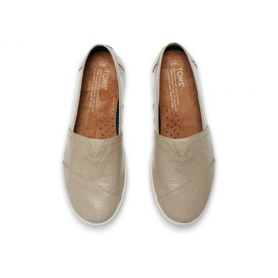 Oxford Tan Patent Linen Women's Avalon Slip-On
