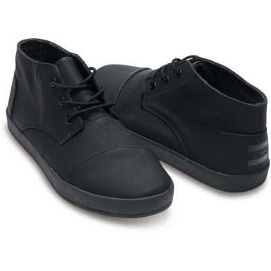 Černé pánské kotníkové boty TOMS Paseos
