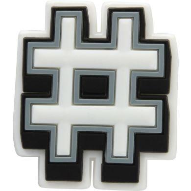 Odznáček Jibbitz - Hashtag