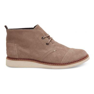 Béžové pánské kotníkové boty TOMS Chukka