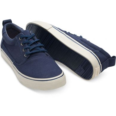 Navy Cotton Twill Men's Valdez