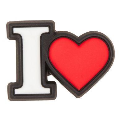 Odznáček Jibbitz - I Heart
