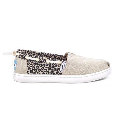 Béžovo-černé TOMS Youth Cheetah Biminis