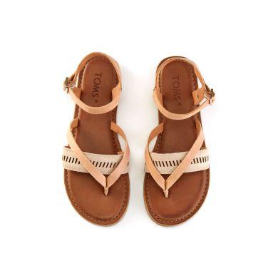 Dámské béžové sandálky TOMS Lexie